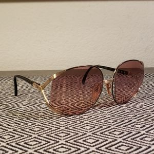 Vintage 1970s Christian Dior Sunglasses Gold and B